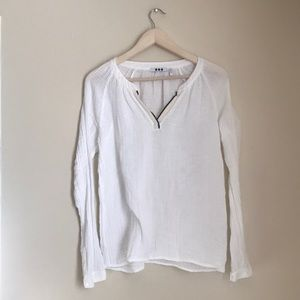 NWOT Three Dots Cotton Pullover Top